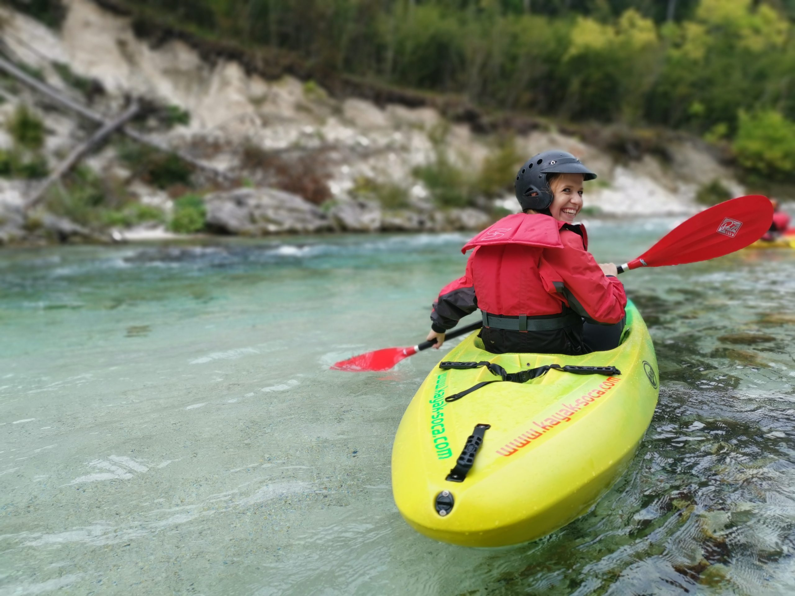 Daily Julian Alps Experience With Kayaking To Secret Spots On Soča River | Kayaking Experience on secret spots of Soča river | Kayak-soca.com